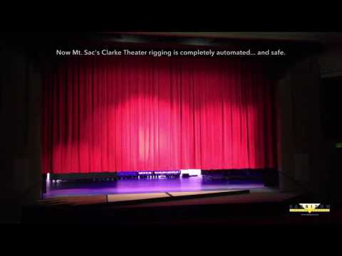 Barbizon Lighting Lifts The Mt. San Antonio College Clark Theater