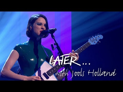 St. Vincent performs Masseduction on Later... with Jools