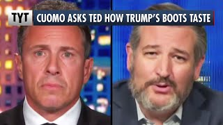 Chris Cuomo TRASHES Ted Cruz For Licking Trump's Boots