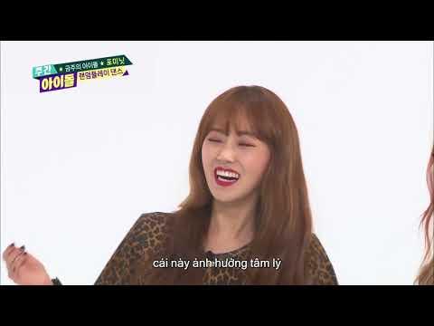 주간아이돌 (Weeky Idol) - 금주의 아이돌 4MINUTES Random Play Dance (Vietnam Sub)