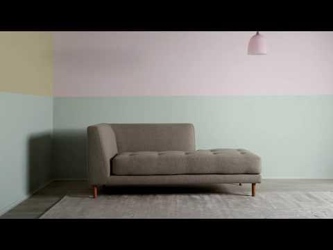 Forandre stuen med årets farge Tranquil Dawn fra Nordsjö Norge