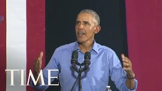 Obama Urges Ohio Residents To Vote To Restore Sanity To Politics | TIME - YouTube
