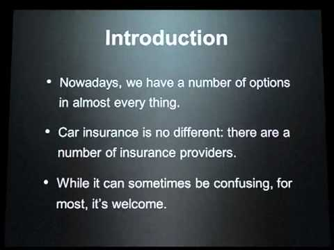 Choosing The Best Car Insurance Company
