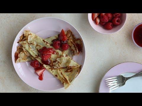 Swedish Pancakes - Sweet Talk with Lindsay Strand