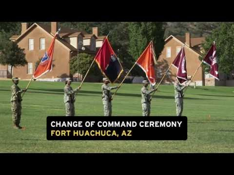 Change of Command at Fort Huachuca