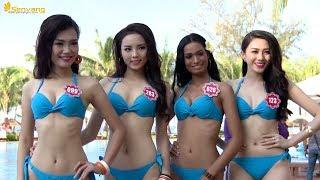 Phần thi áo tắm BIKINI giúp Hoa hậu Kỳ Duyên tỏa sáng áp đảo Phạm Hương và Huyền My | HHVN