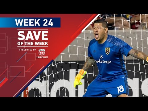 Phillips 66 Save of the Week | Vote for the Top 8 MLS Saves (Wk 24)