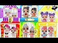 LOL Surprise Doll Jail Rescue Glitter My Little Pony Rarity Twilight Sparkle Morning Barbie Party!