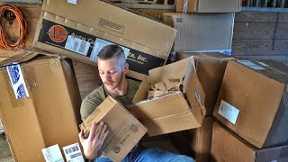 Thousands of Dollars of Stuff Just Arrived!!!
