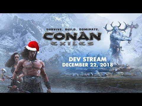 Conan Exiles chill stream w/ Nicole and Jens Erik