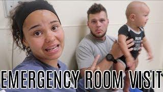 EMERGENCY HOSPITAL VISIT!!!