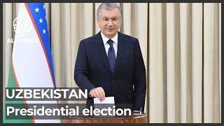 Voting under way in Uzbekistan's presidential election