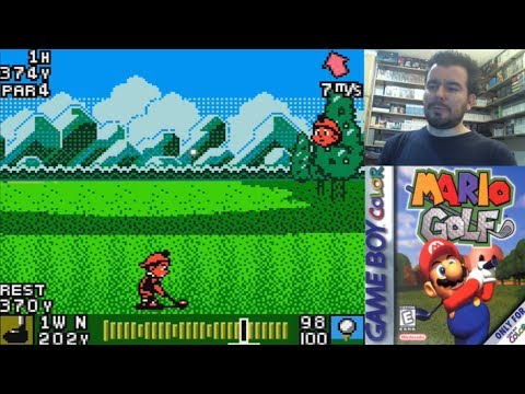 MARIO GOLF (Game Boy Color) - El RPG de golf de GBC || Gameplay en Español - Evento Veraniego 2019