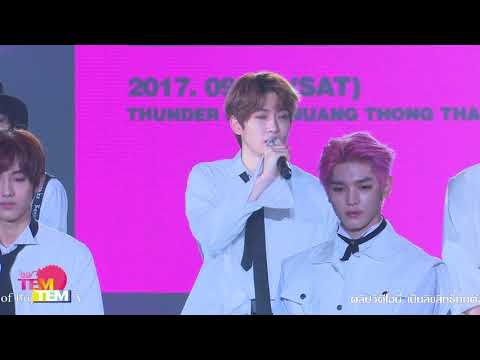 170909 NCT 127 Fan Meeting in Bangkok Press Conference