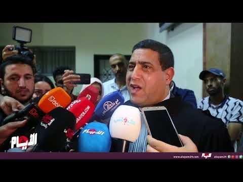 الهيني يبكي بعد الحكم على المهداوي ويقول: واعباد الله هذا مواطن كيقول وطني ملكي غيور