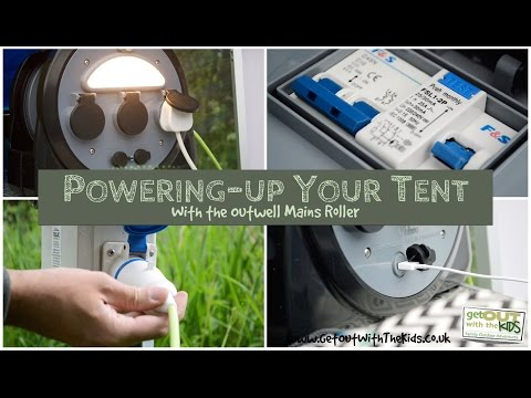 video Powering up your tent, with the Outwell Mensa Mains Roller