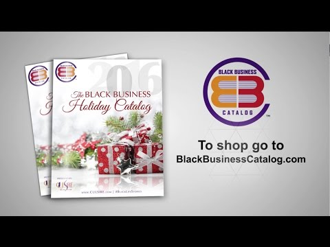 Black Business Holiday Catalog Video