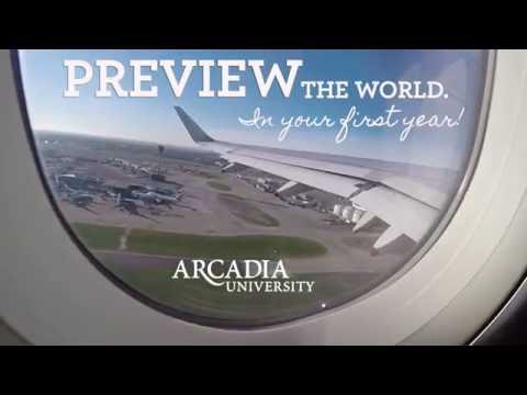 Preview the World In Your First Year at Arcadia (commercial)