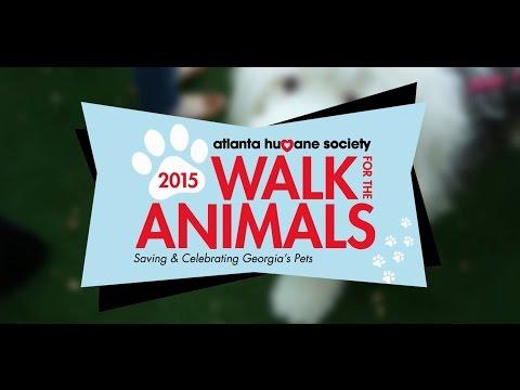 Atlanta Humane Society's 2015 Walk for the Animals