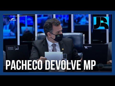 Rodrigo Pacheco devolve ao Planalto MP que dificulta combate às fake news