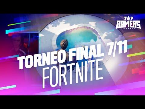 2ª PARTIDA de FORTNITE | TORNEO FINAL (7 NOV) | TOP GAMERS ACADEMY