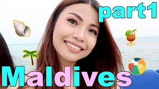MICHELLE DY in MALDIVES!! (with BENEFIT) Part 1