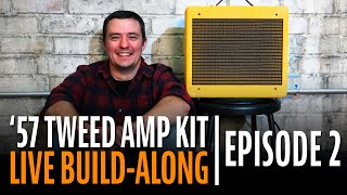 Watch the Trade Secrets Video, How to Build a Tube Amp Kit Step-by-Step (Episode 2)