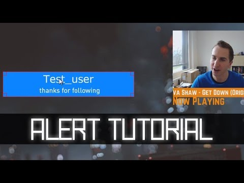 OBS: NightDev Follower Alert Tutorial with DropBox