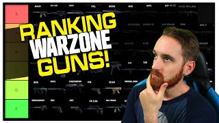 Ranking Warzone Guns!   My Weapon Tier List! (Season 4)