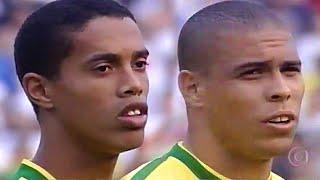 RONALDO, RONALDINHO e RIVALDO HUMILHANDO A ARGENTINA EM 1999 - Melhores Momentos e Lances