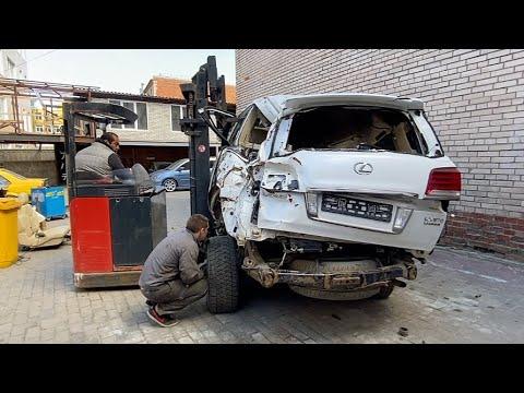 Это мой Lexus LX 570. Новый проект.