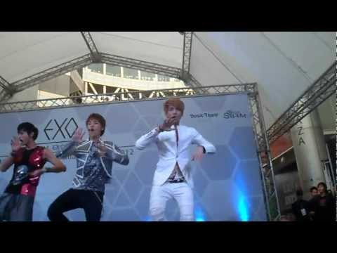 [FANCAM]  EXO's Mini Live in Thailand 28 July 2012 - HISTORY