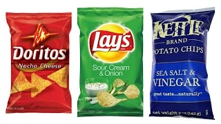 Top 10 Potato Chip Flavors