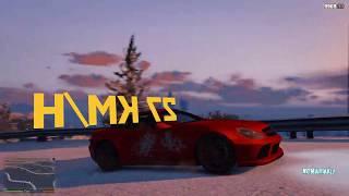 3D speedometer mod for GTA 5 ⭐ 4K Gameplay