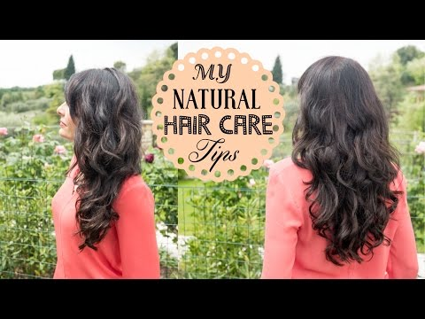 Natural Hair Care ROUTINE tips for Healthy Hair: Homemade hair mask & At home hair coloring tips