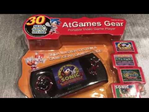 Console AtGames Master System Game Gear 8 bits (2,95€)