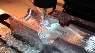 CNC milling Aluminum cavity - Tormach PCNC 1100