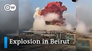 Massive explosion in Beirut | DW News