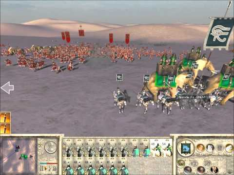 Rome Total War Online Battle #1962: 4 Player Free-For-All (Live-Commentary)