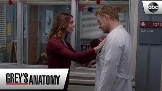 Owen and Amelia Fight About Leo - Grey's Anatomy Season 15 Episode 13