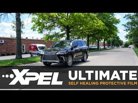 2016 Lexus LX570 Protected with XPEL Clear Bra - Clear Auto Bra St.Louis