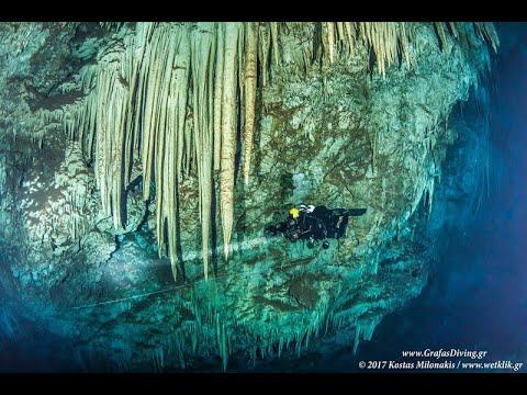 Οι εξερευνητές των βυθών. Μέρος 2ο.  Σπήλαια και σπληλαιοκαταδύσεις