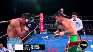 Flores vs Cusolito: PBC on Fox Sports 1 HIGHLIGHTS - Sept. 22, 2015