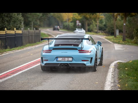 Supercars Accelerating - RENNtech C63 S AMG, Capristo R8, AMG GT R Pro, BRABUS E63 S AMG, 991 GT3 RS