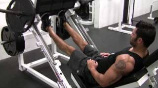 Panturrilha no leg press 45°