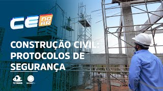 Construção civil: protocolos sanitários garantem segurança de profissionais