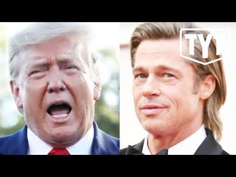 Unhinged Trump Rants About Brad Pitt