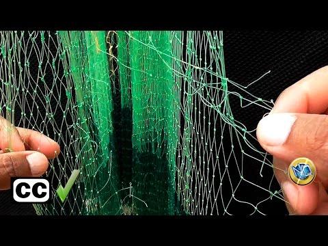 aprende a reparar rotura de redes con nudos eficaces y r pidos til para todo tipo de redes. Black Bedroom Furniture Sets. Home Design Ideas