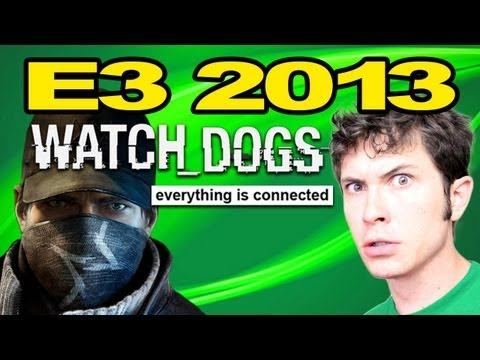 WATCH DOGS: E3 2013 - Exclusive Tobuscus Interview - Smashpipe Games