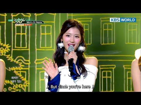 TWICE (트와이스) - Merry & Happy [Music Bank COMEBACK / 2017.12.15]